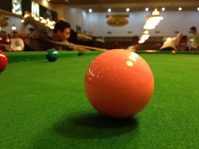 Snookerköer