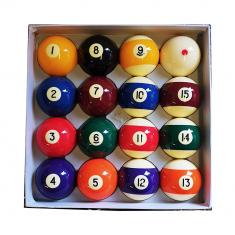 Biljardboll Pro set 57 mm