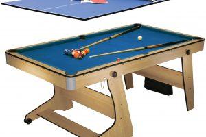 Biljardbord BCE Folding pool plus bordtennisskiva