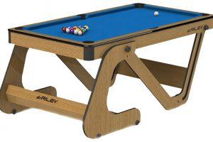Biljardbord Riley Vertical Folding Pool 6