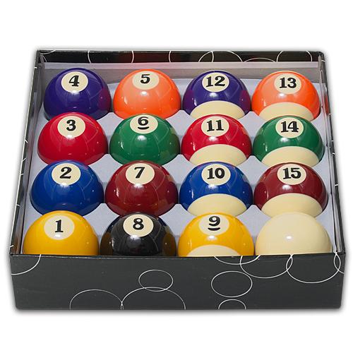 Dynamic Billiard Biljardbollar Standard 48 mm