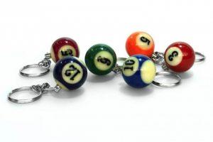 Dynamic Billiard Nyckelring Biljardboll