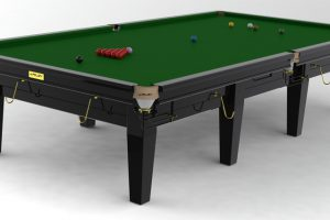 Snookerbord Riley Grand Black 8 fot