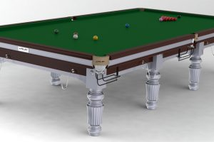 Snookerbord Riley Renaissance Silver 12 fot Silver
